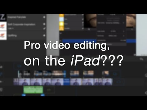Pro Video Editing on your iPad?? An awesome NEW app!