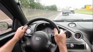 Ford Ka supercharge  1.0 zetec rocan corta a pouco mais de 180km/h