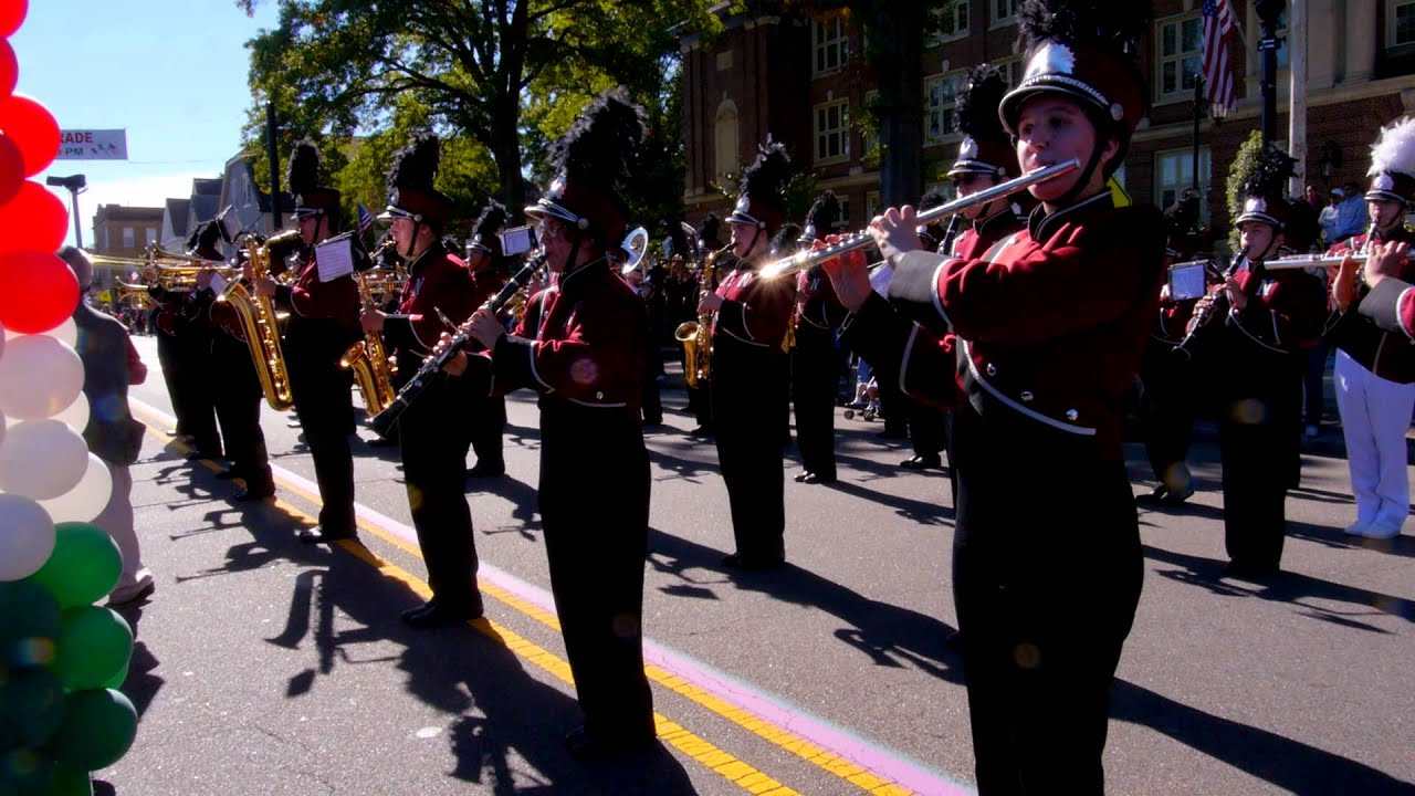 Nutley High School Marching Band, Columbus Parade - YouTube