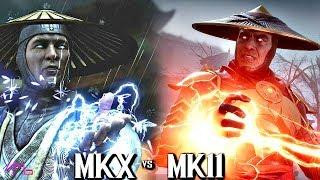 MK 11 VS MKX GRAPHIC COMPARISON & BREAKDOWN - MORTAL KOMBAT 11