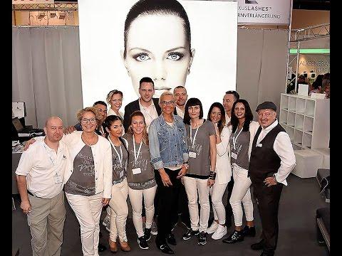 Luxuslashes Auf Der Beauty Messe Düsseldorf 2017 Youtube