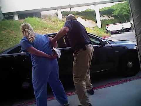Utah nurse shares police video of 'crazy' arrest by Salt Lake officer