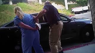 Utah nurse shares police video of