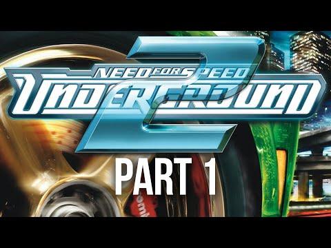 NEED FOR SPEED UNDERGROUND 2 Gameplay Walkthrough Part 1 - MY FIRST CAR