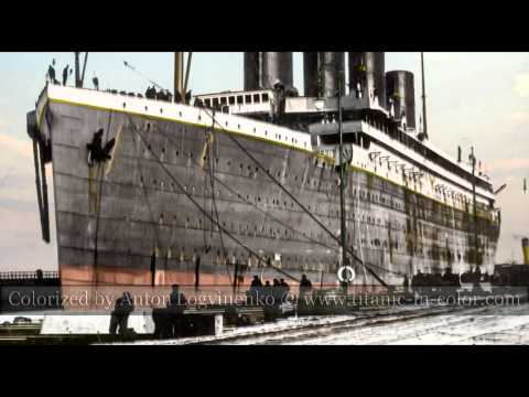 A color story of the RMS TITANIC