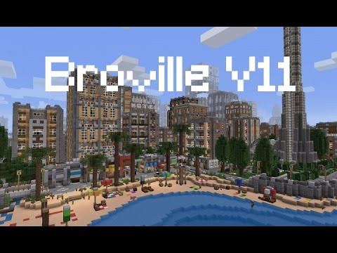 Minecraft - Exploring Broville v11 Episode 10: Solar Corp Pt 1