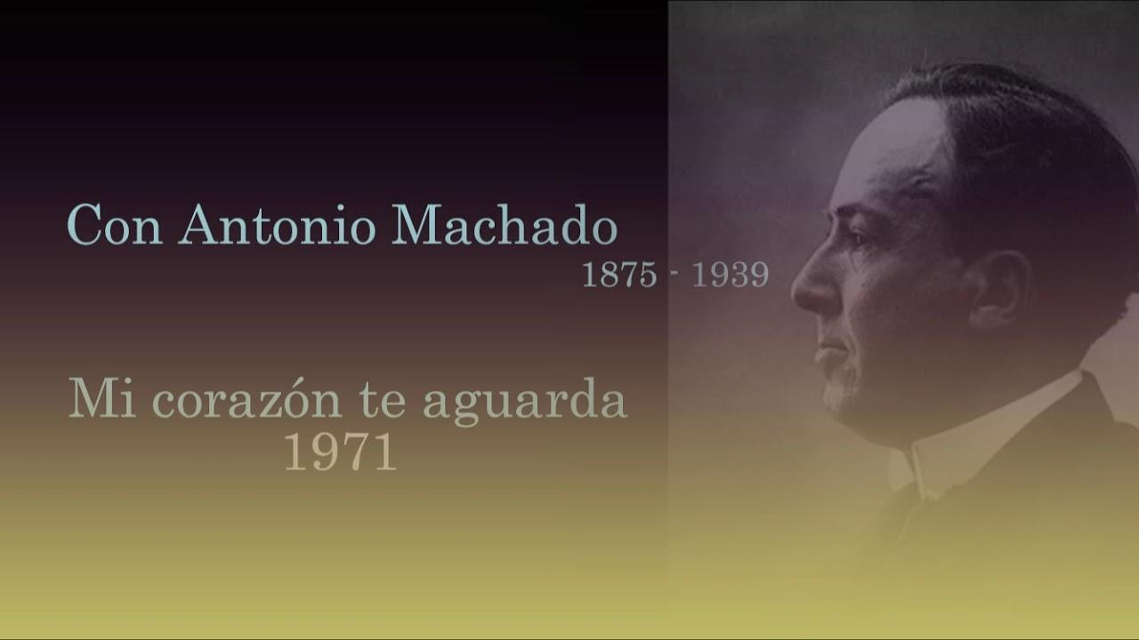 """Joaquín Rodrigo """"Con Antonio Machado. Mi Corazón te Aguarda"""" 1971"""