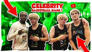 I BLOCKED FLOYD MAYWEATHER! (INTENSE CELEB GAME)