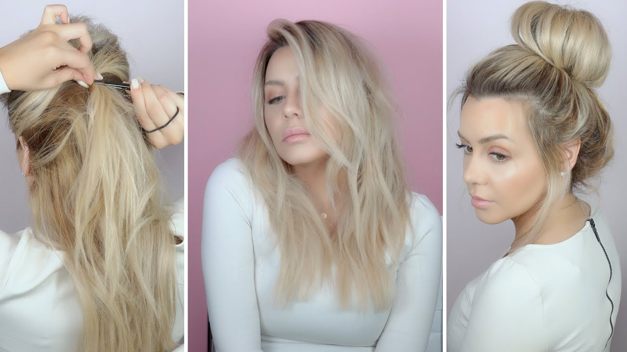 No Heat Hair Styles: 5 Easy Spring No Heat Hairstyles