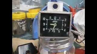MG Magnette Clock