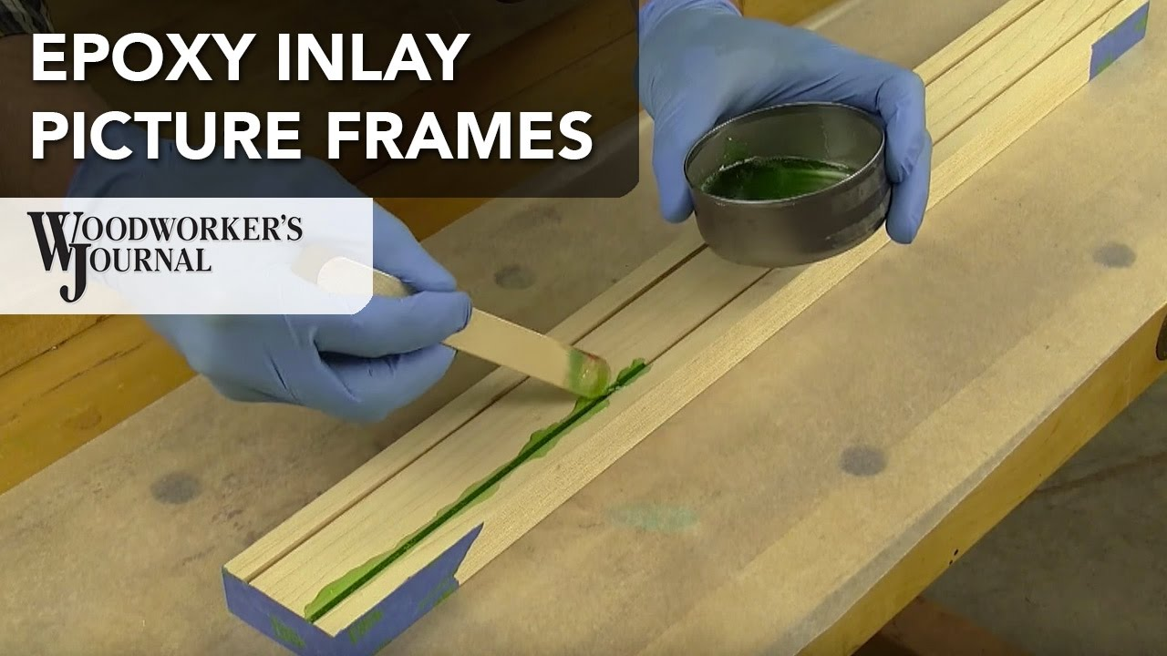 How to make a picture frame with epoxy inlay detail youtube how to make a picture frame with epoxy inlay detail jeuxipadfo Choice Image
