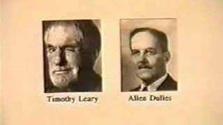 "timothy leary and allen dulles [THE EMPIRE OF ""THE CITY""]"