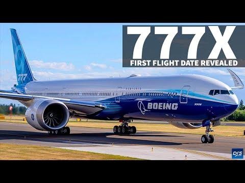 777x live first flight