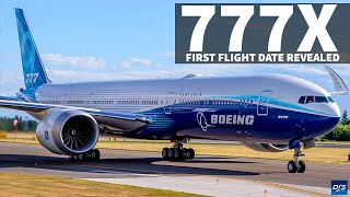 Boeing 777X First Flight Revealed