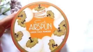 short review coty airspun loose face powder