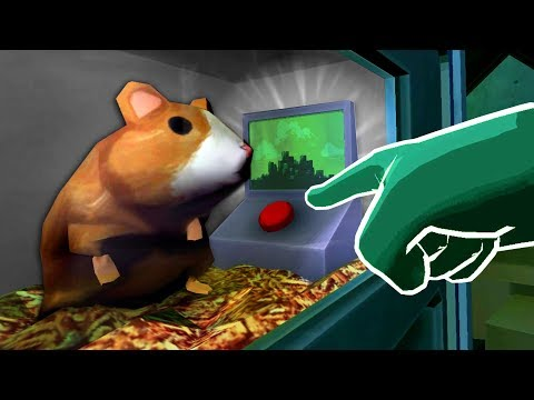 THE SECRET HAMSTER BUTTON - Please, Don't Touch Anything 3D (VR)
