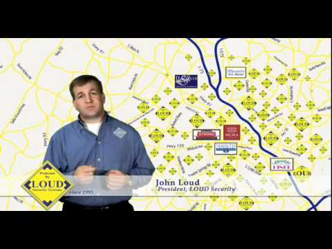 loud security commercial altanta security systems