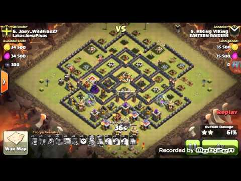 Clash of Clans: Eastern Raiders 100th Clan War Victory with 3 Star Attacks
