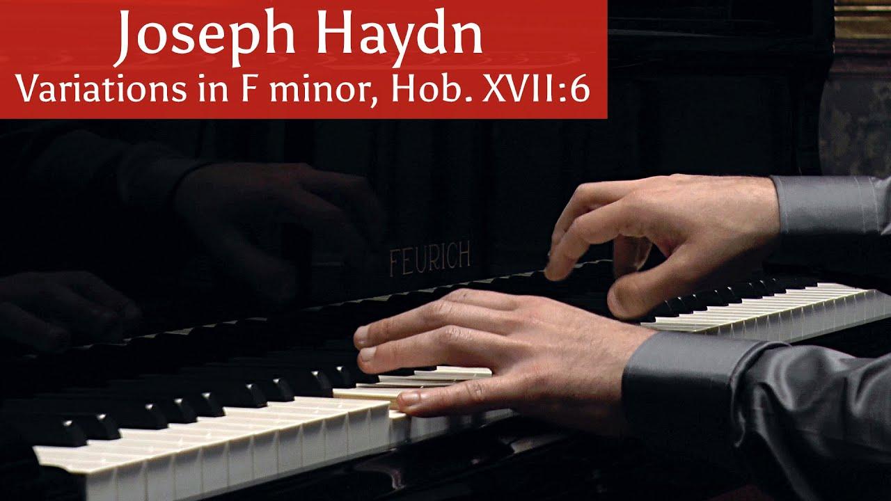 Joseph Haydn // Variations in F minor, Hob. XVII20