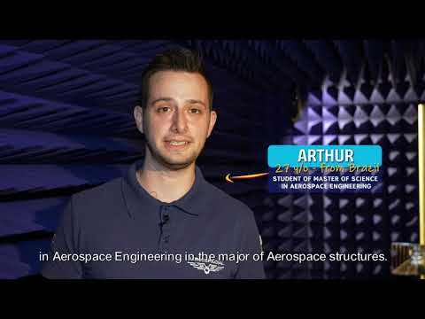 Arthur, 27yo, student of the Master of Science in Aerospace Engineering!