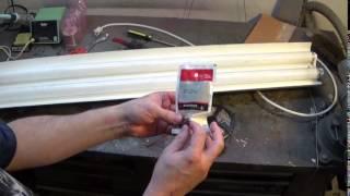 Redneck Conversion:  Fluorescent Shop Light To Led, Part 1