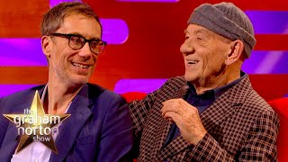 Sir Ian McKellen \u0026 Stephen Merchant Geek Out Over Working With Each Other | The Graham Norton Show