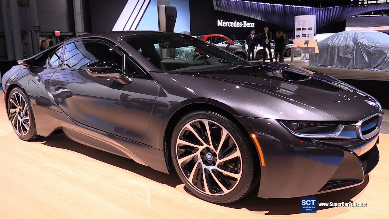 2016 Bmw I8 Edrive Exterior And Interior Walkaround New York Auto Show