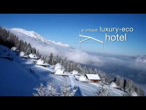 Whitepod hotel // New video of the resort