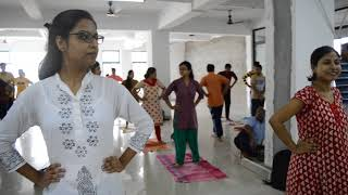 International Day of Yoga 2018 (IDY2018) at Future Institute of Technology