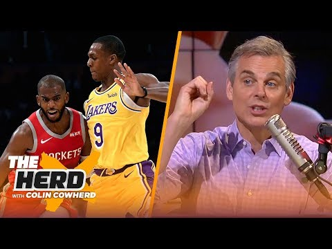Colin Cowherd: 'Rondo is not going to get the benefit of the doubt'   NBA   THE HERD