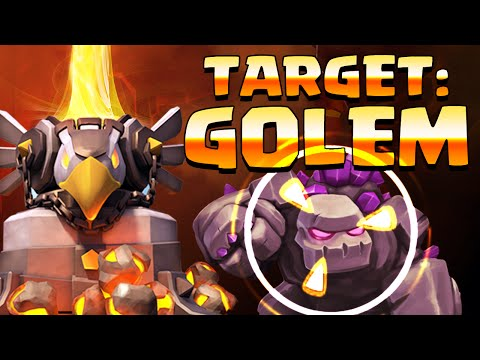 Clash of Clans ♦ GUTTED! ♦ Golems Gunned Down ♦ CoC ♦