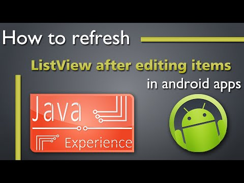 How to refresh a ListView after removing item from it in Android