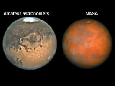 color of mars planet - photo #28