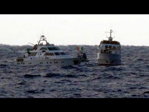 Israel Intercepts Gaza-bound Aid Flotilla