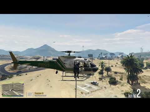 Palm Beach County Sheriff's SWAT Helicopter Insertion