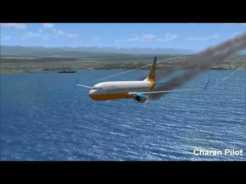 EMERGENCY BELLY LANDING: BOEING 737-800
