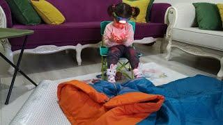Decathlon dan kamp malzemelerini alarak Ayşe Ebrar a sürpriz yaptık.Eğlenceli çocuk videosu.