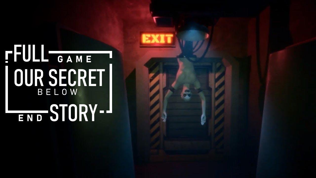 Our Secret Below Full gameplay + Ending
