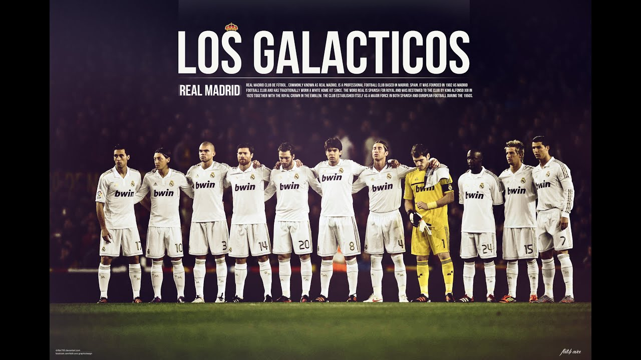 Real Madrid 2012-Los Galaticos-Dream Team - YouTube