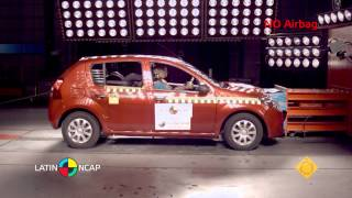 Crash Test  Renault Sandero