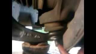 Easy way to pop Honda Civic Control Arm Ball Joint