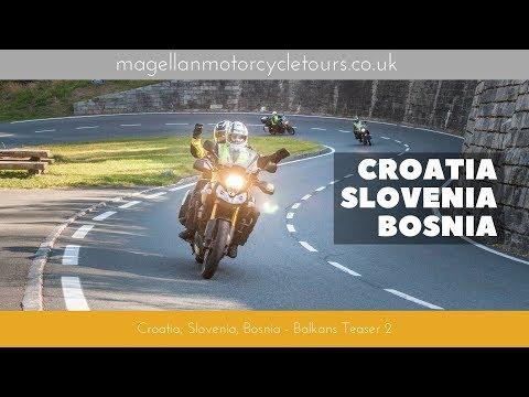 Croatia, Slovenia, Bosnia: Balkans Motorcycle Tour teaser 2 Magellan Motorcycle Tours