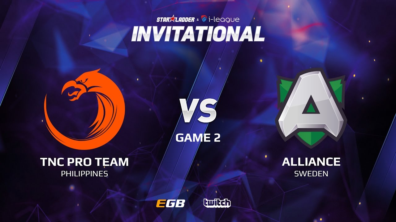 TNC Pro Team vs Alliance, Game 2, SL i-League Invitational S2 LAN-Final, Group A