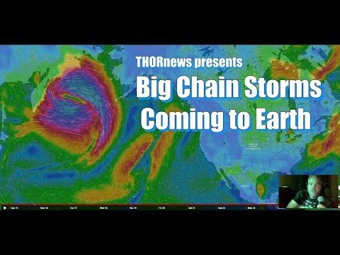 Ophelia & More Big chain Storms coming for the Americas Asia & Europe.