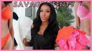 Lingerie Try-On Haul   My JULY FAVORITES From Savage X Fenty!