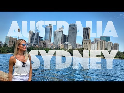 Sydney Australia - Darling Harbor, Opera House E Mais - Ep.01