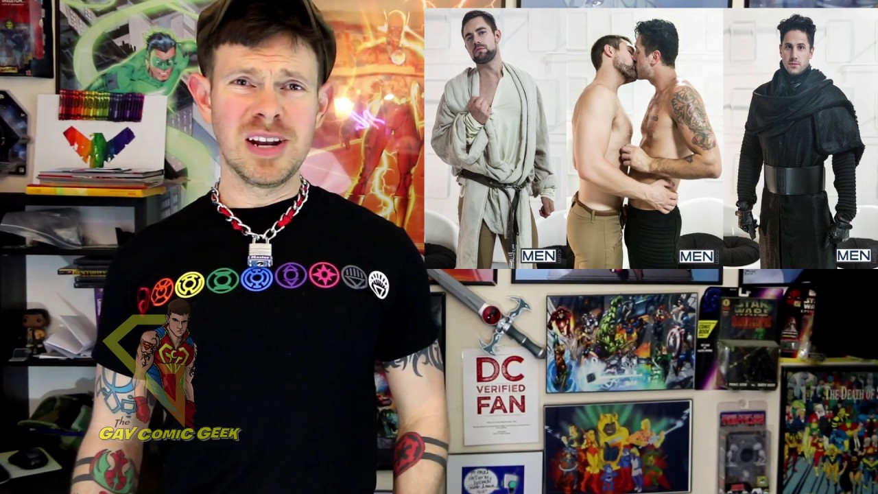 Awakens Porn Tumblr star wars the force awakens a gay xxx parody part 7 safe for work cut scene review