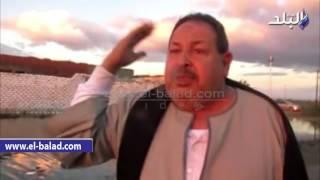 بالفيديو والصور.. استمرار غرق قرى بحيرة قارون في المياه.. ووكيل 'الري' يتهم الأمطار