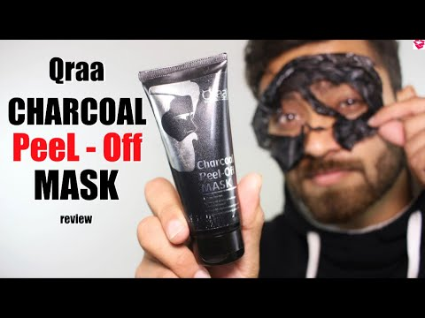 qraa-charcoal-peel-off-mask-review-|-clear-skin-in-10-minutes-|-qualitymantra