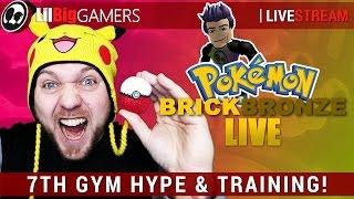 7. GYM HYPE & TRAINING! | Roblox: Pokemon Brick Bronze